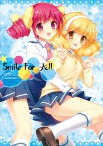 Rating: Safe Score: 44 Tags: hoshizora_miyuki kimishima_ao kise_yayoi pretty_cure seifuku smile_precure! User: 椎名深夏