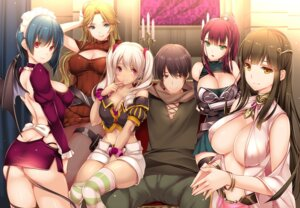 Rating: Safe Score: 4 Tags: armor ass breast_hold cleavage dress maid monety no_bra nopan sweater tagme tail thighhighs wings User: nphuongsun93