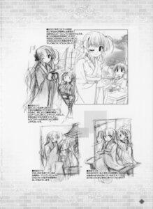 Rating: Safe Score: 4 Tags: bekkankou fortune_arterial monochrome sendou_erika sketch User: admin2