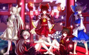 Rating: Questionable Score: 30 Tags: bakanoe bandages feet hakurei_reimu tattoo touhou User: sylver650