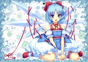 Rating: Safe Score: 78 Tags: cirno garter neko_works sayori touhou User: Aurelia