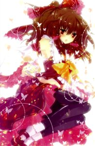 Rating: Safe Score: 31 Tags: hakurei_reimu ichiyou_moka pantyhose touhou vita_(circle) User: Radioactive