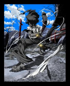 Rating: Safe Score: 4 Tags: afro_samurai male okazaki_takashi User: nanashioni