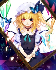 Rating: Safe Score: 19 Tags: flandre_scarlet heterochromia tagme touhou wings User: charunetra