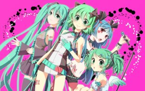 Rating: Safe Score: 13 Tags: hatsune_miku kiko thighhighs vocaloid wings User: Radioactive