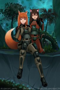 Rating: Safe Score: 6 Tags: animal_ears bodysuit cosplay half-life holo nekomimi spice_and_wolf tagme tail User: dick_dickinson