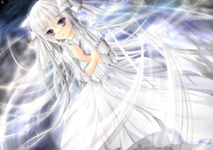 Rating: Safe Score: 31 Tags: dress garyljq kasugano_sora yosuga_no_sora User: charunetra