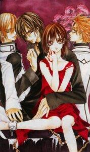 Rating: Safe Score: 4 Tags: aidou_hanabusa bleed_through cross_yuuki hino_matsuri ichijou_takuma kuran_kaname vampire_knight User: syaoran-kun