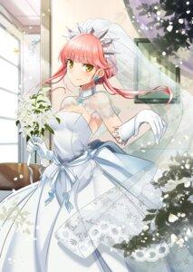 Rating: Safe Score: 51 Tags: dress fate/grand_order medb_(fate/grand_order) shimo_(s_kaminaka) wedding_dress User: Nepcoheart