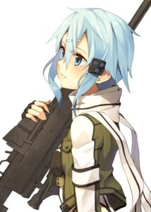 Rating: Safe Score: 35 Tags: gun gun_gale_online kinta_(distortion) sinon sword_art_online uniform User: Radioactive