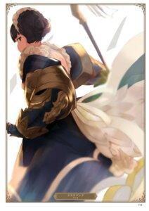Rating: Safe Score: 5 Tags: claudia_(granblue_fantasy) granblue_fantasy maid yatsuka_(846) User: Twinsenzw