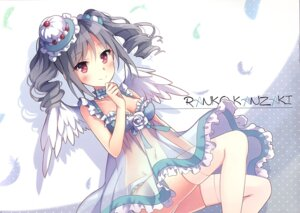 Rating: Questionable Score: 16 Tags: bra cleavage kanzaki_ranko lingerie neko_no_onsen nyanya pantsu see_through tagme the_idolm@ster the_idolm@ster_cinderella_girls thighhighs wings User: Radioactive