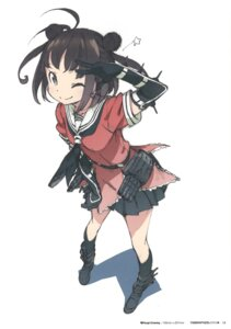 Rating: Safe Score: 36 Tags: kantai_collection kanzaki_hiro naka_(kancolle) seifuku tabgraphics User: fireattack