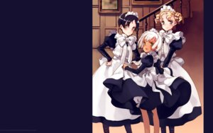 Rating: Safe Score: 5 Tags: collet_lloyd lita littlewitch maid nina_edwards oyari_ashito rondo_leaflet skirt_lift wallpaper User: Radioactive