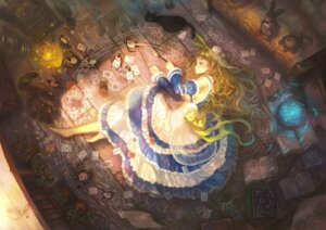 Rating: Safe Score: 33 Tags: alice alice_in_wonderland dress neko yoshiku User: blooregardo