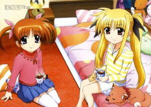 Rating: Safe Score: 23 Tags: arf fate_testarossa ibata_shouta mahou_shoujo_lyrical_nanoha mahou_shoujo_lyrical_nanoha_a's mahou_shoujo_lyrical_nanoha_the_movie_2nd_a's takamachi_nanoha thighhighs yuuno_scrya User: Radioactive