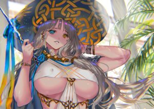 Rating: Questionable Score: 17 Tags: erect_nipples heterochromia no_bra ranou weapon witch User: Arsy