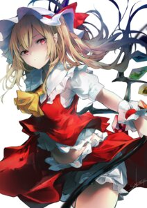 Rating: Safe Score: 16 Tags: bloomers flandre_scarlet pointy_ears sakusyo skirt_lift touhou wings User: Dreista
