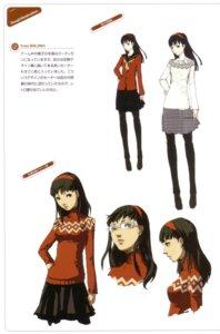 Rating: Safe Score: 10 Tags: amagi_yukiko character_design megane megaten pantyhose persona persona_4 seifuku soejima_shigenori User: admin2