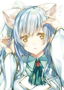 Rating: Safe Score: 34 Tags: animal_ears nekomimi saijou_yukina User: charunetra