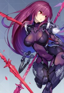Rating: Questionable Score: 92 Tags: 2d bodysuit fate/grand_order scathach_(fate/grand_order) weapon User: kiyoe