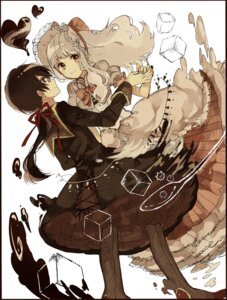 Rating: Safe Score: 16 Tags: aa_(novanova) anthropomorphization dress megane User: KazukiNanako