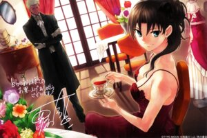 Rating: Safe Score: 19 Tags: archer cleavage dress fate/stay_night nishiwaki_dat scanning_artifacts screening toosaka_rin type-moon User: admin2