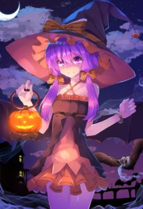 Rating: Safe Score: 37 Tags: dress halloween hopepe vocaloid wings witch yuzuki_yukari User: Mr_GT