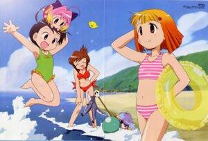 Rating: Safe Score: 4 Tags: bikini crease guchuko natsu_mikan oki_ryoichi potemayo potemayo_(character) seki_tomari swimsuits takamimori_kyo User: Radioactive