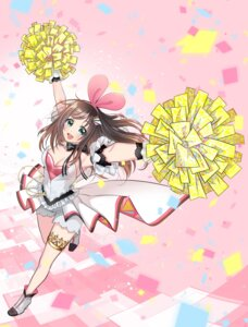 Rating: Safe Score: 11 Tags: a.i._channel cheerleader cleavage garter heels kizuna_ai tagme User: saemonnokami