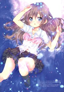 Rating: Questionable Score: 25 Tags: bra ech possible_duplicate see_through seifuku wet_clothes User: Radioactive