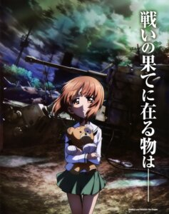 Rating: Questionable Score: 28 Tags: girls_und_panzer nishizumi_miho seifuku User: drop