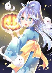 Rating: Safe Score: 21 Tags: fubukihime halloween hoshino_madoka kimono youkai_watch User: Mr_GT