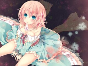 Rating: Safe Score: 45 Tags: cleavage dress komeshiro_kasu saigyouji_yuyuko touhou User: ddns001