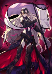 Rating: Safe Score: 33 Tags: armor fate/grand_order haik jeanne_d'arc jeanne_d'arc_(alter)_(fate) sword thighhighs User: Mr_GT