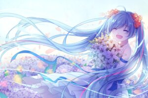 Rating: Safe Score: 53 Tags: dress hatsune_miku vocaloid yue_yue User: Mr_GT
