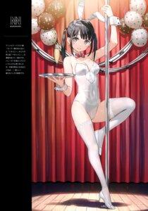 Rating: Safe Score: 117 Tags: animal_ears bunny_ears bunny_girl heels kantoku thighhighs User: kiyoe