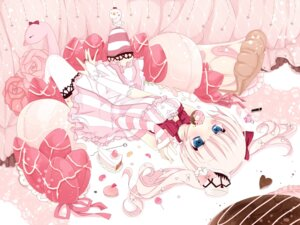 Rating: Safe Score: 39 Tags: dress lolita_fashion sakuragi_yuzuki thighhighs User: Nekotsúh