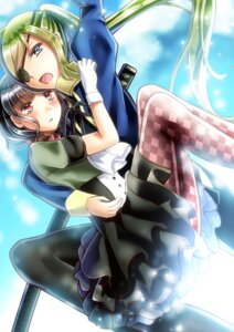 Rating: Safe Score: 12 Tags: dress eyepatch pantyhose satomi_nori sword yuri User: hamasen205