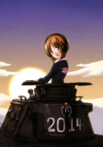 Rating: Safe Score: 12 Tags: girls_und_panzer headphones nishizumi_miho seifuku User: drop