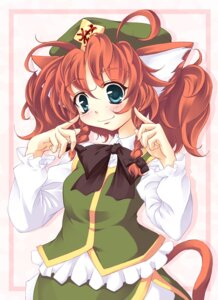 Rating: Safe Score: 6 Tags: animal_ears hong_meiling lozelia nekomimi tail touhou User: Radioactive