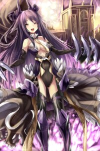 Rating: Questionable Score: 37 Tags: cleavage haik thighhighs User: gibwar