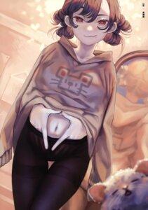 Rating: Questionable Score: 10 Tags: mizutamari_tori pantyhose sweater tagme User: kiyoe