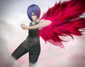 Rating: Questionable Score: 22 Tags: kirishima_touka maredoro tokyo_ghoul User: Victor2015