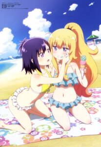 Rating: Safe Score: 130 Tags: bikini gabriel_dropout kuwabara_naoko swimsuits tenma_gabriel_white tsukinose_vignette_april User: drop