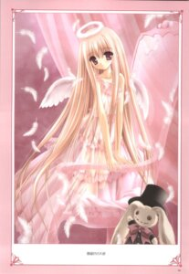 Rating: Safe Score: 31 Tags: angel dress lingerie lolita_fashion see_through tinkle wings User: noirblack