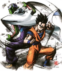 Rating: Questionable Score: 9 Tags: dragon_ball male piccolo son_gohan User: drop