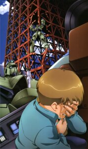 Rating: Safe Score: 4 Tags: gundam mecha uso_evin victory_gundam User: drop