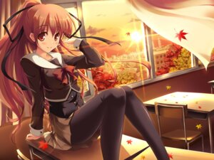 Rating: Safe Score: 37 Tags: azumi_jun pantyhose seifuku User: blooregardo