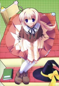 Rating: Safe Score: 18 Tags: dress ikegami_akane majokko_a_la_mode_ii witch User: fireattack